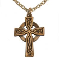Celtic St Petroc Cross Pendant